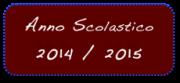 Anno Scolastico 14/15